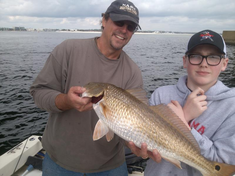 Cool change charters home for Orange beach fishing report